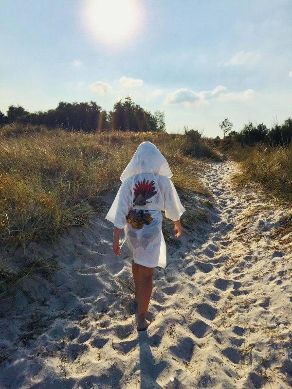 Cool kids kimono in organic cotton by Marooms - A sustainable Danish kids brand
